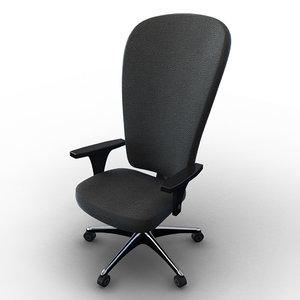 obj cartoon chair office