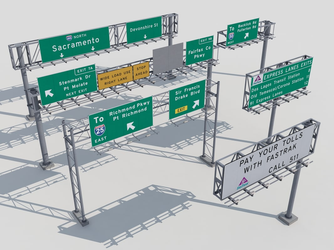max highway signs