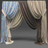3d curtains classic