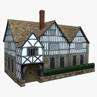 german house 3d model