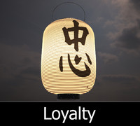 japanese lamp loyalty - 3d max