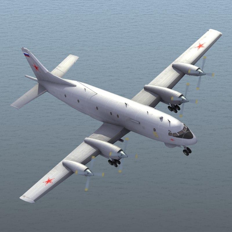 3d il-38 naval model