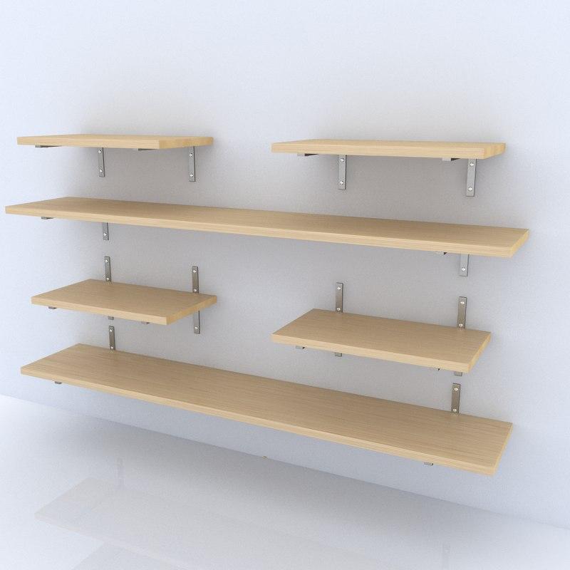 3ds max shelf organized