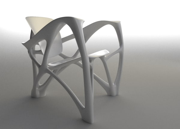 3d bone chair laarman model