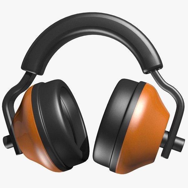 ear protectors c4d