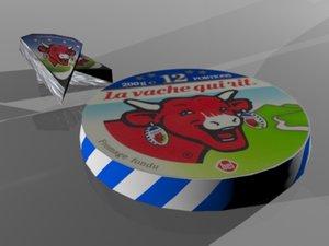 3d model la vache qui rit