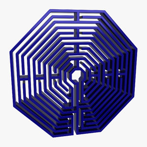 maze octagonal 3ds