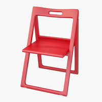 Contemporary Plastic Folding Chair