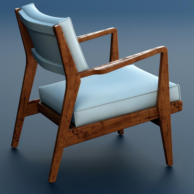 3dsmax jens chair