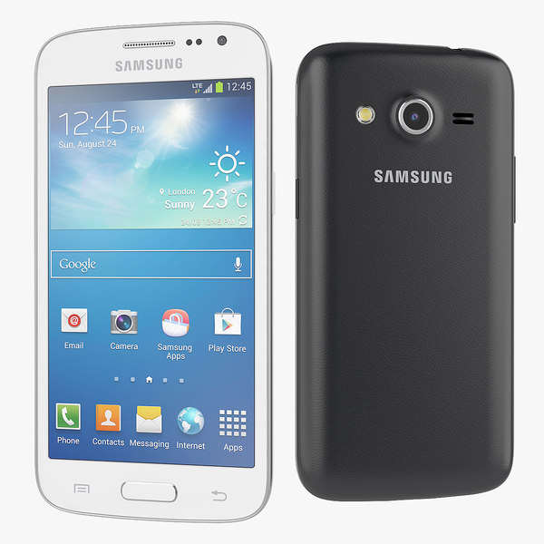 new samsung galaxy core 3d model