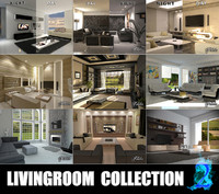 livingrooms 2 3d model