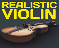 VIOLIN - photorealistic