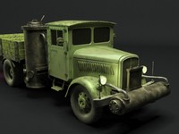 free 3ds model german truck