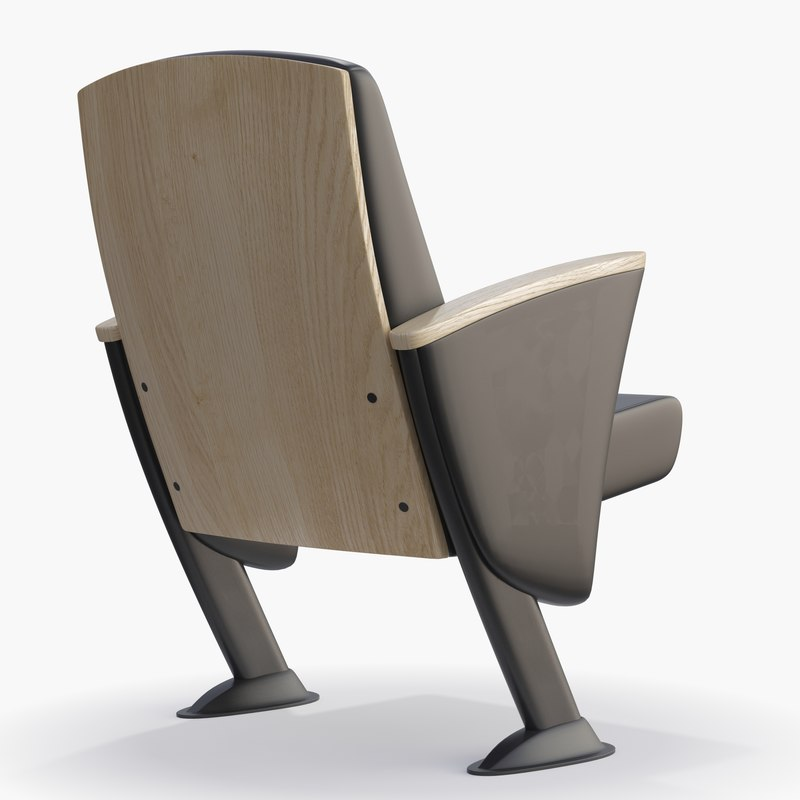eidos - wood chair 3d 3ds