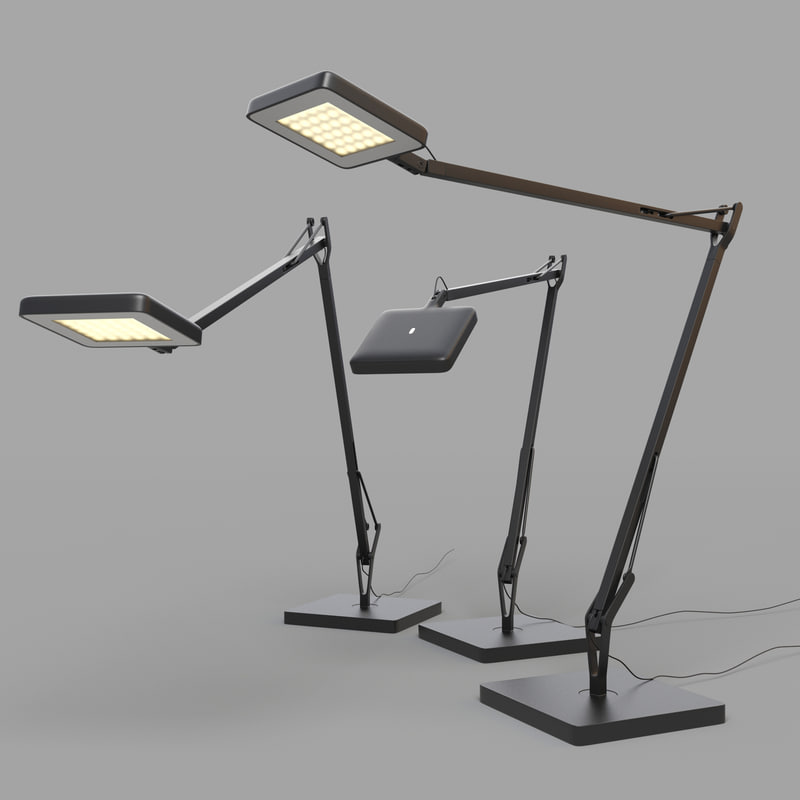 3ds max kelvin led lamp