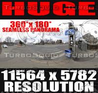 360x180 Panorama City