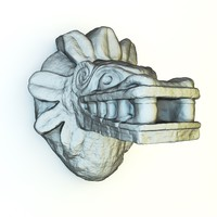 3ds max mayan sculpture