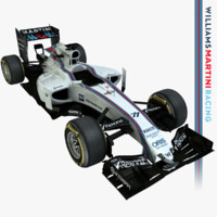 2015 formula 1 williams 3d model