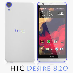 obj htc desire 820