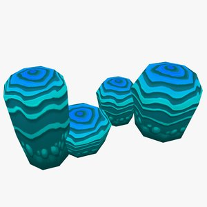 ready coral 3d model