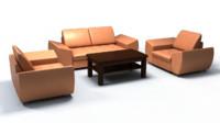 sofa real 3d model