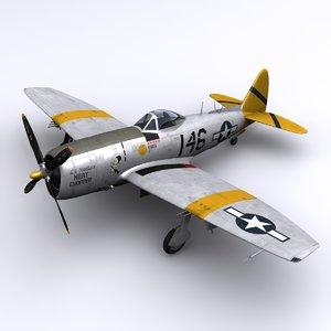 p-47 thunderbolt p-47n lt 3ds
