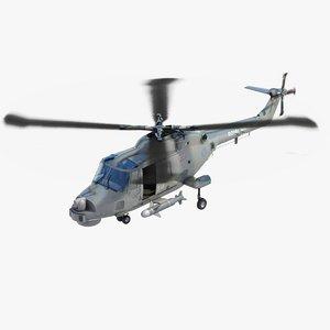 lynx hma 8 royal navy 3d model