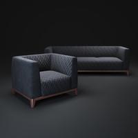 medea-mobilidea-sofa-divani 3d model