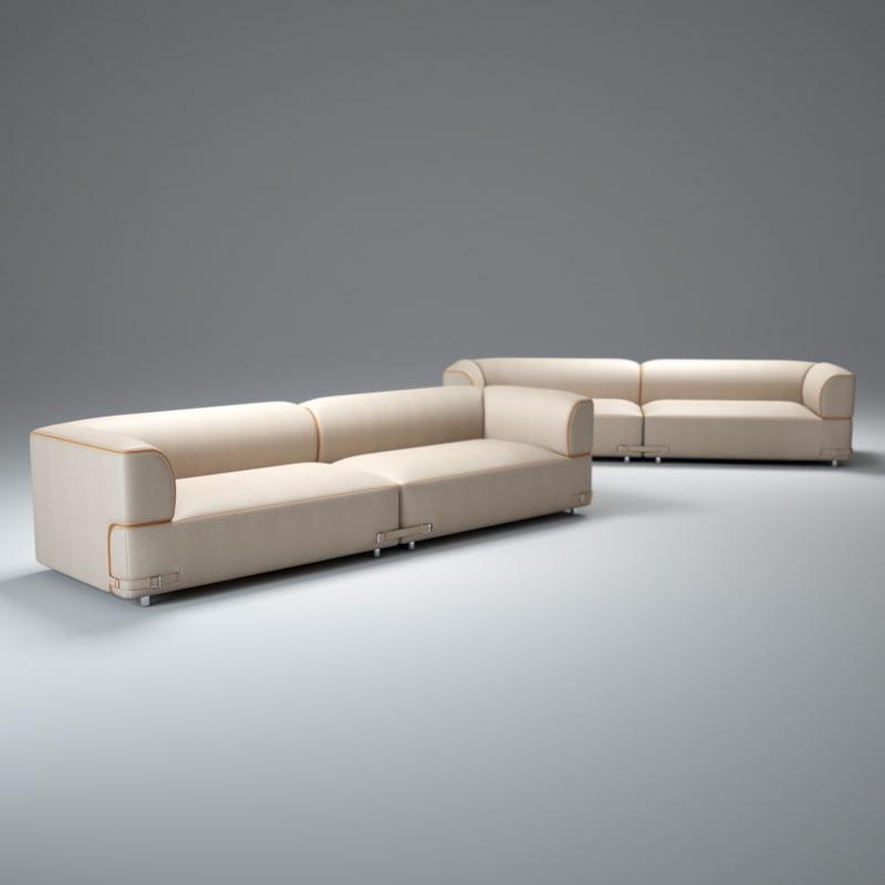 soho-sofa 3d max