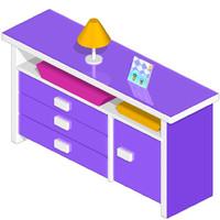 3ds max cartoon furniture