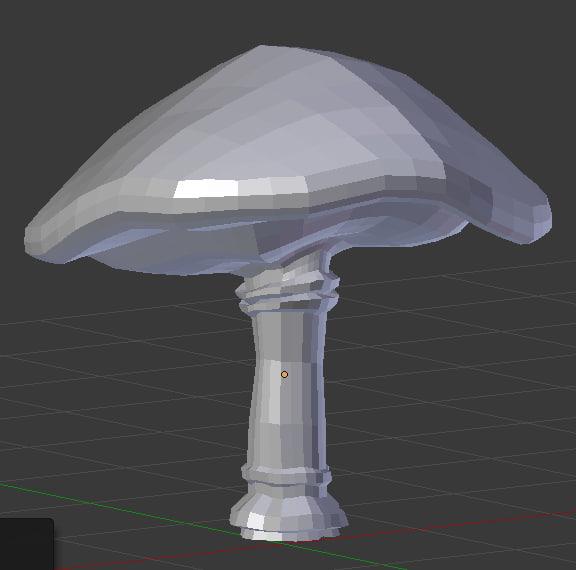 3d mushroom stl