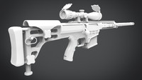 3d barrett modeled renders model
