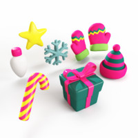 Christmas Items Toy Fu