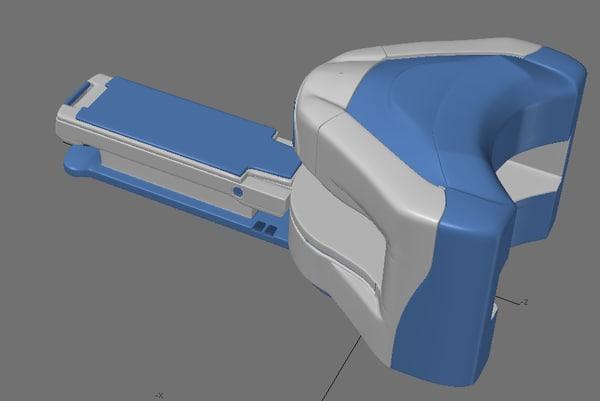 3d mri machine model