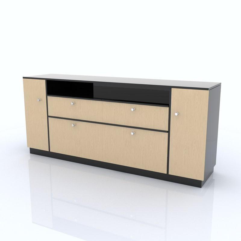 3d shelf organized