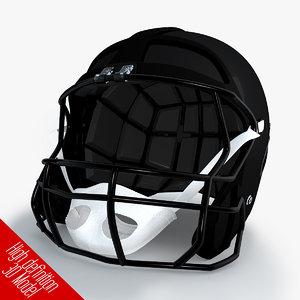 classic football helmet 3ds