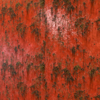 Rusty Red Paint