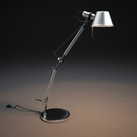 3d model artemide-tolomeo-table-lamp