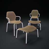 3d model zed-chair