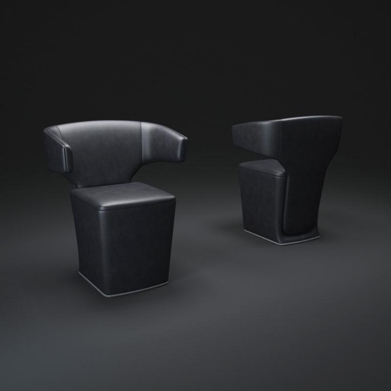 3d allermuir-bison-chair model