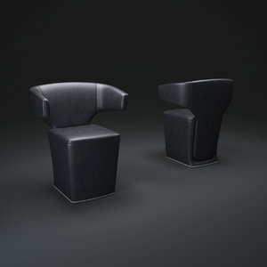 3d allermuir-bison-chair model