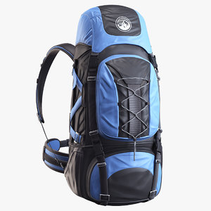 backpack alpine 3d max