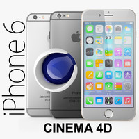 Apple iPhone 6 Plus CINEMA4D