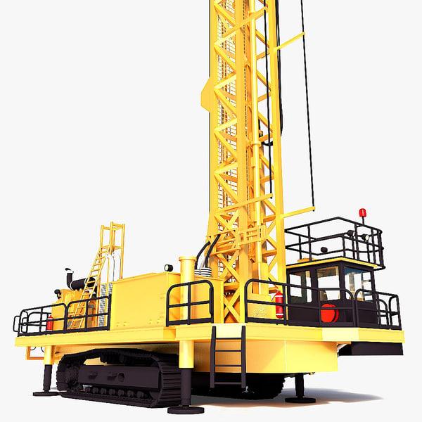 max rotary drilling rig