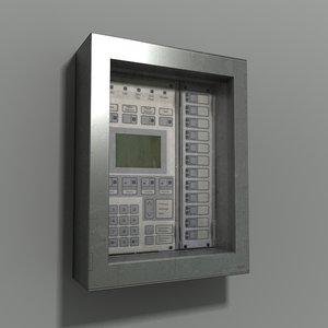 max intruder alarm control