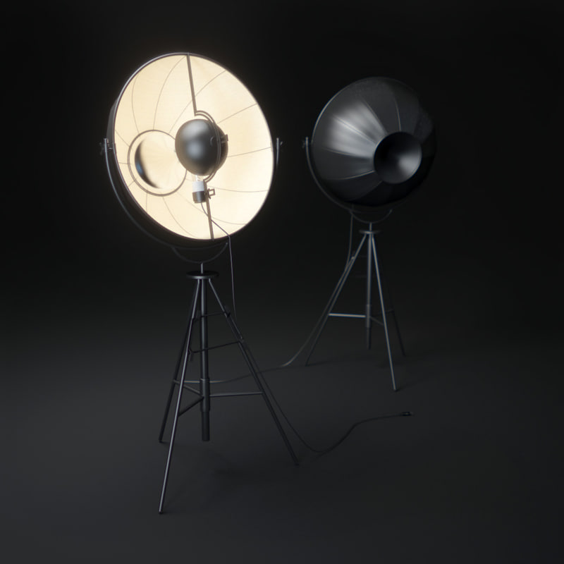 fortuny-lamp 3d model