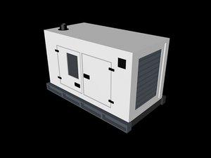 generator electric power unit 3ds