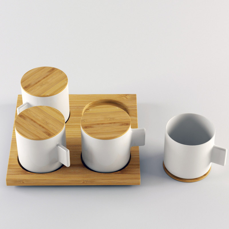 3d model lexon coffee mug