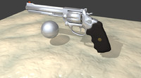 357 Chrome Revolver