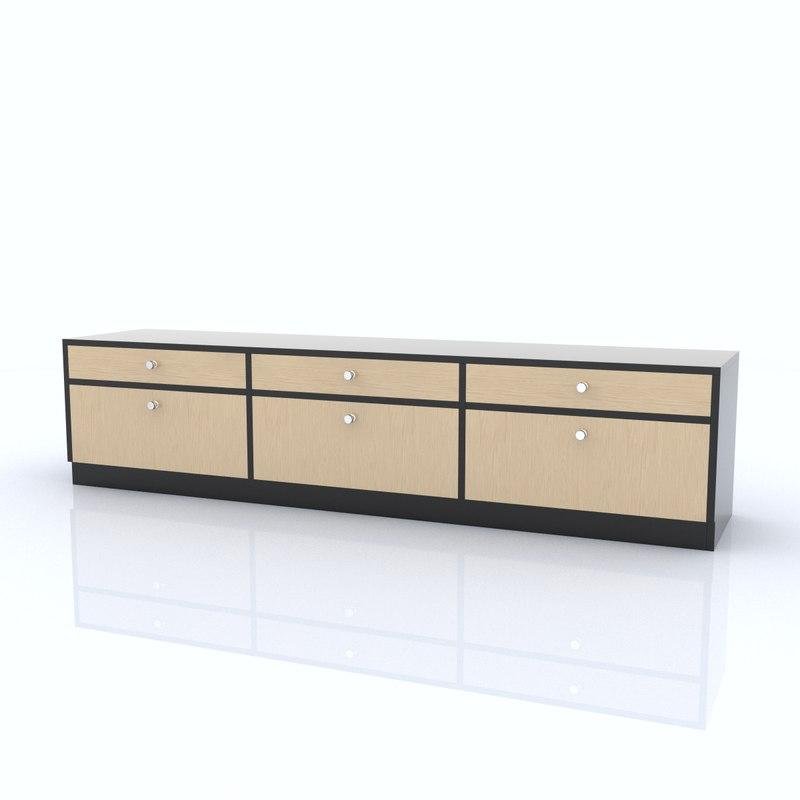 3d c4d shelf organized